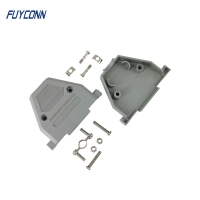 Buy cheap 180 Degree Straight Plastic D Sub Hood For 37 Pin DB Connector from wholesalers