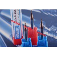 Quality Milling Machine Cutting Bits , Carbide Ball Nose End Mills For Stainless Steel for sale