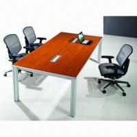 Quality Mamca Series Conference Table Made of Spray-painted Wood Veneer and MDF for sale