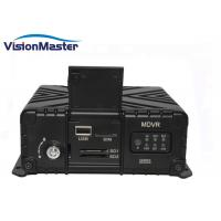 Quality Video SD SSD 4G 4ch Dvr Mobile DVR WIFI HD Bus Video Recorder H.265 Modular Design for sale