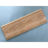 China Hot Stamping Multi Function PVC Wood Panels Flat Shape 8 Inch Damp Proof on sale