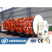 China Al Wire And Cable Stranding Machine With Armoring Function Ground Shaft Driven on sale