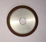 Flat Resin Bonded Diamond Grinding Wheels Grit Abrasive For Crank Shaft Magnetic