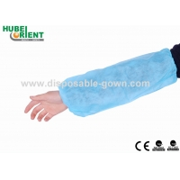 Quality Non Woven Disposable Oversleeves With Double Elastic for sale