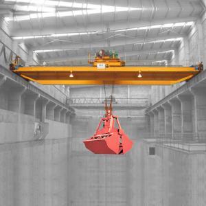 Quality 36 Ton 103 Ton Bridge Overhead Crane / Electric Double Beam Garbage Crane for sale