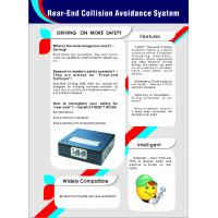 China Rear-End Collision Avoidance System/ Rcas Warn Car Behind in Advance Once Emergency Brake on sale