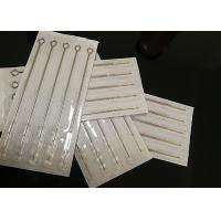 Quality SS 316 Semi Permanent Makeup Needles For Permanent Makeup Machine / Eyeliner Lips Pins for sale