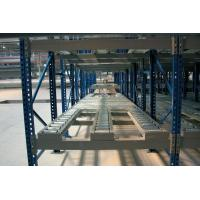 Quality Blue / orange galvanized gravity flow racks for Electronic manufacturer for sale