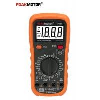 China Auto Power Off Handheld Digital Multimeter 2000 Counts Transistor Diode Tester on sale