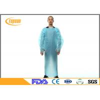 Disposable Medical Patient Gowns CPE Gown For Hospital Operation Eco Friendly