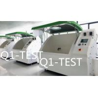 Quality Light Green Color Cyclic Corrosion And Salt Spray Test Chamber With Touch Screen Controller for sale