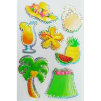 Quality 3D hologram stickers / Custom summer season style decals stickers for sale