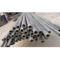 Quality ASTMA1045 Perforated Hexagonal Hollow Steel Tube / Thick Wall Steel Pipe for sale