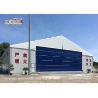 Quality 30M Temporary Outdoor  Aircraft Airplane Hangar Tent with Hard Wall for sale