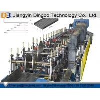 China Line Speed 4-6m / Min Standard Cable Tray Roll Forming Machine Chain Drive For Construction on sale