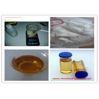 Quality Solution Test 400 Mg / Ml Pharmaceutical Testosterone Bodybuilding Painless Injection Oil for sale