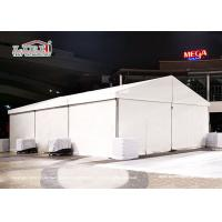Quality CFM Small Party Tent 10x15m For 100-150 People White Lining And Curtains Around for sale