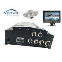 Quality 4CH HDD GPS Basic black box car digital video recorder , Vehicle Mobile DVR SD card for sale