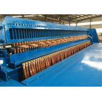 Quality Full Automatic Welded Wire Mesh Machine , Wire Mesh Roll Welding Machine Stable Performance for sale