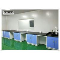 Quality Steel Lab Wall Bench With Corrosion Resistant Worktop In Pharmaceutical Company for sale