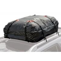 Quality Black rooftop Cargo Storage Bag For Car Roof for sale