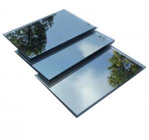 Quality High Quality 3mm One Way Mirror Door Window Glass One Way Gray Glass for sale