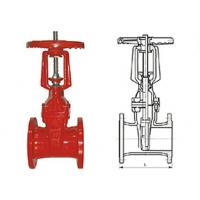 Quality Industry RRHX rising stem resilient gate Power Station Valve Stainless steel Stem GB9113 for sale