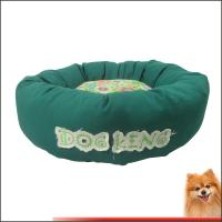 China Waterproof Dog Beds Canvas Fabric With Flower Printed Dog beds Factory on sale
