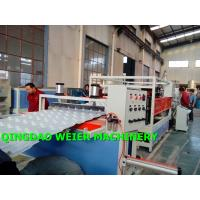 Quality High Output Corrugated Sheet Machine PVC UPVC Bamboo Roofing Tiles for sale