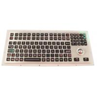 Buy cheap Backlit Industrial Ruggedized Keyboard IP67 116 Keys With Numeric Keypad from wholesalers