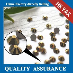 Quality non hot fix rhinestone,rhinestone non hot fix china supplier,ss10 crystal non hot fix rhinestone for sale