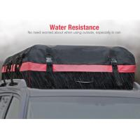 Quality 10 Cubic Feet Roof Top Bags For Cars With Water Resistant PVC coated 600D Nylon for sale
