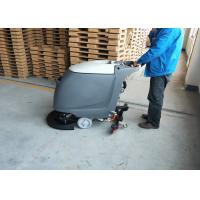 Quality 18 inch Brush Commercial Floor Scrubber Machine With Adjustable handle for sale