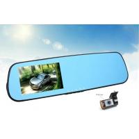 Quality 2 Channel Anti - Glare Rear View Mirror Dvr Camera Motion Detection Dvr for sale