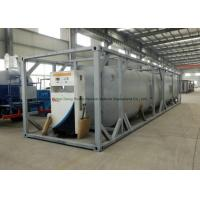 Dong Run Refuel Tank Container 40 FT , ISO Mobile Gasoline Station Tank