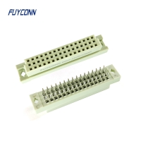 Quality 3*16pin 32pin 48pin Female Eurocard Connector With Solderless Pin for sale