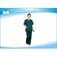 Fashionable Nurse Smocks Surgical Green Medical Uniforms Scrubs
