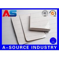 Quality Glossy White Paper Box For 10 IU Injection Amps Vials For Human Growth Bodybuilding for sale