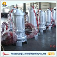 Quality hebei non-clog electric centrifugal submersible sewage pump for sale