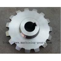 Large Diameter Gears Stainless Steel Chain Sprocket Wheel With Heat Treatment