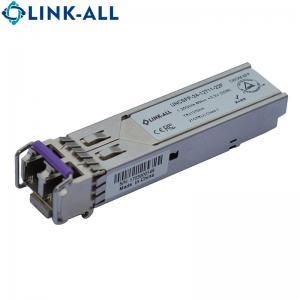 Quality 1.25G CWDM 1470~1610NM  SFP Fibre optical transceivers, 120km for sale