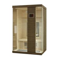 Quality Two Person Infrared Sauna Cabin, Ceramic Infrared Home Sauna Kit for sale