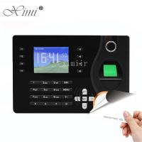 Quality TCP / IP Communication Biometric Time Attendance Machine RFID Card Reader for sale