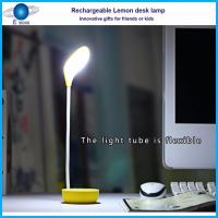 Quality Lemon shape led light / rechargeable room energy saving online shopping uk for sale