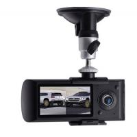 China Best Dual Lens GPS Car Camera DVR 1280x720 High Quality on sale