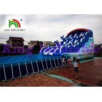 Buy cheap Giant Outdoor Inflatable Water Parks With Slide And Pool For Amusing from wholesalers