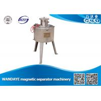 Slurry Double Cooling 2.5T Magnetic Separator Machine For Quartz Beneficiation