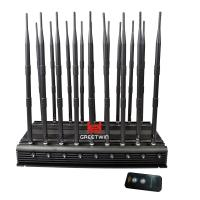 Buy cheap 18 Antennas 2g 3G 4G WiFi 2.4G Full Bands 130MHz-6GHz Jammer from wholesalers
