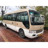 Quality 2010 Year Toyota Coaster Used Bus 23 Seats 15B Diesel Engine 2585mm Bus Height for sale