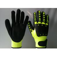 Quality TPR Back Sewing Mechanic Work Gloves Eco Friendly Reducing Hand Fatigue for sale